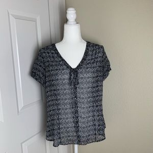 Ann Taylor Loft Button Down Blouse